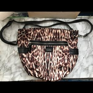 NWOT Nicole Miller Cheetah Print Bag